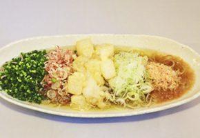 季節の蕎麦と料理写真